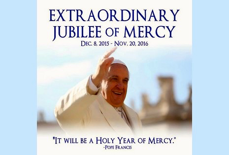 photo of pope francis for jubilee 2015