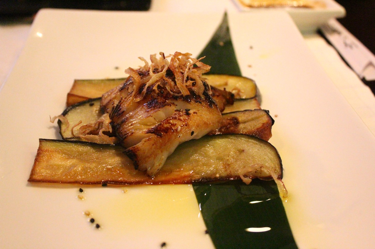 miso-marinate black cod at me geisha