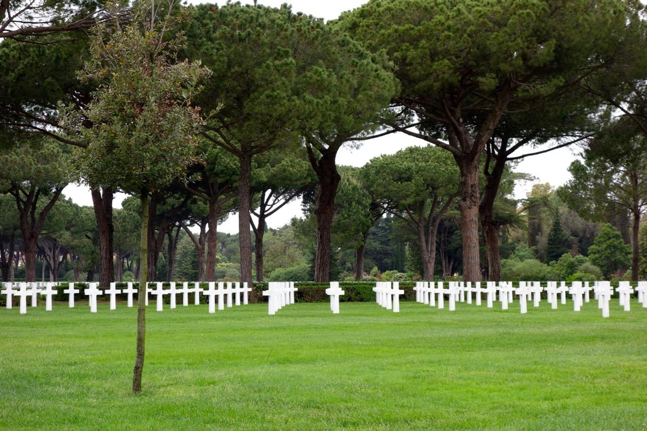 nettuno american cemetery