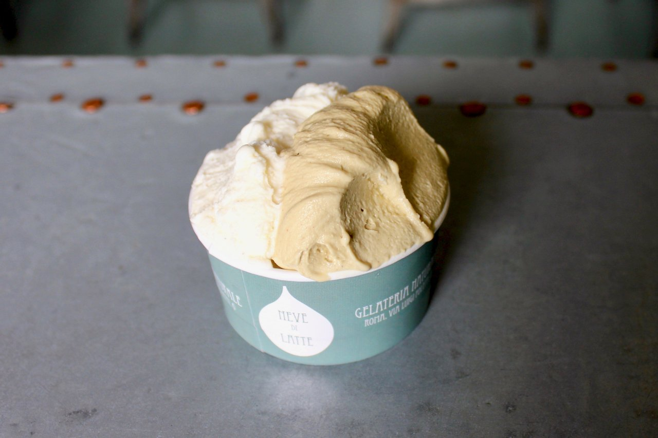 Neve di Latte, some of the best gelato in Rome