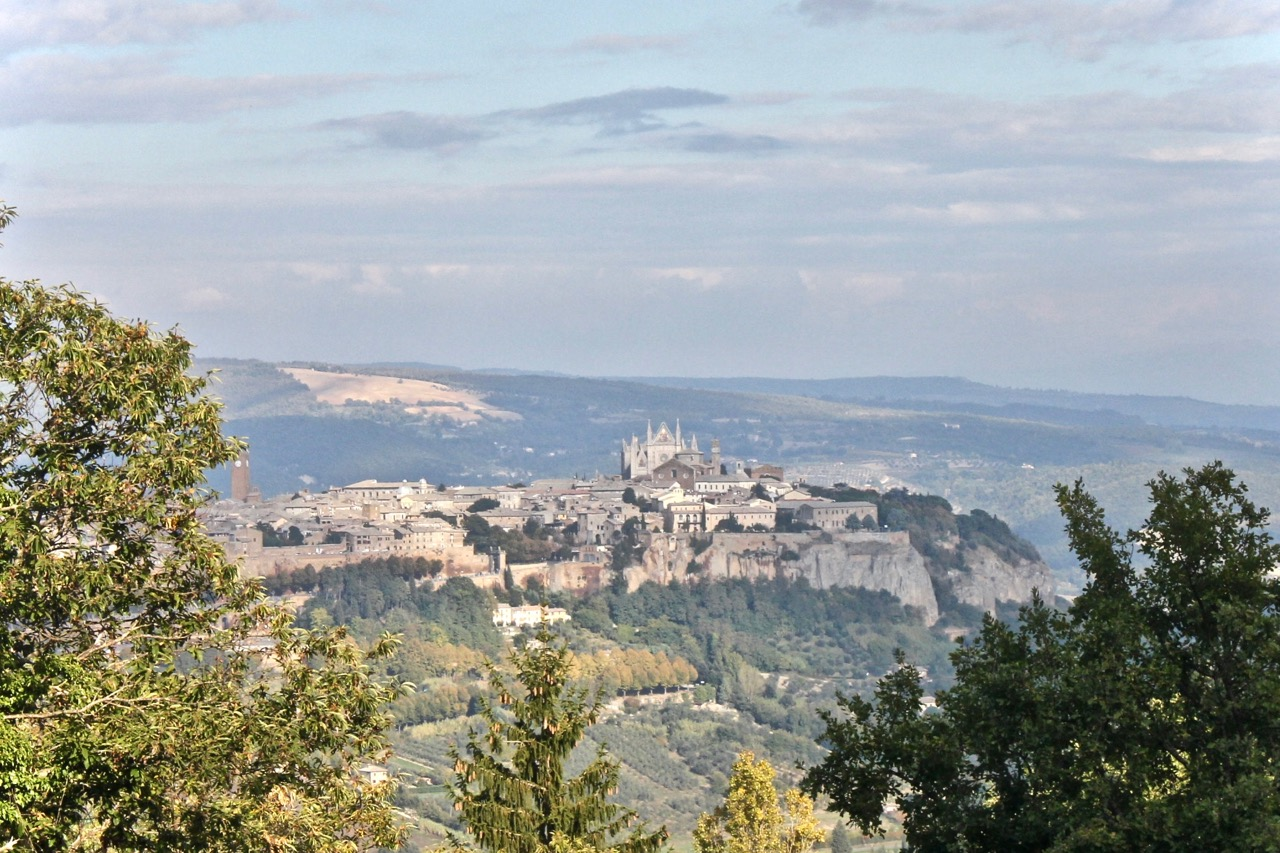 orvieto from above