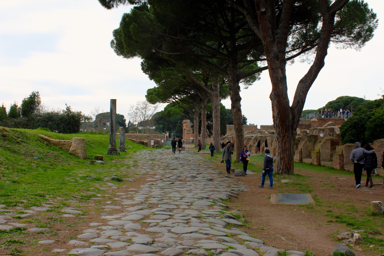 ostia antica just half an hour from rome