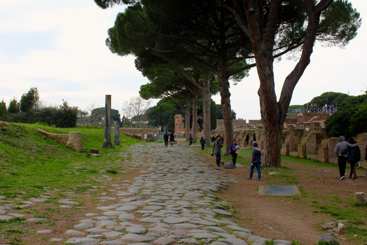 ostia antica, one of the most important cities in ancient rome