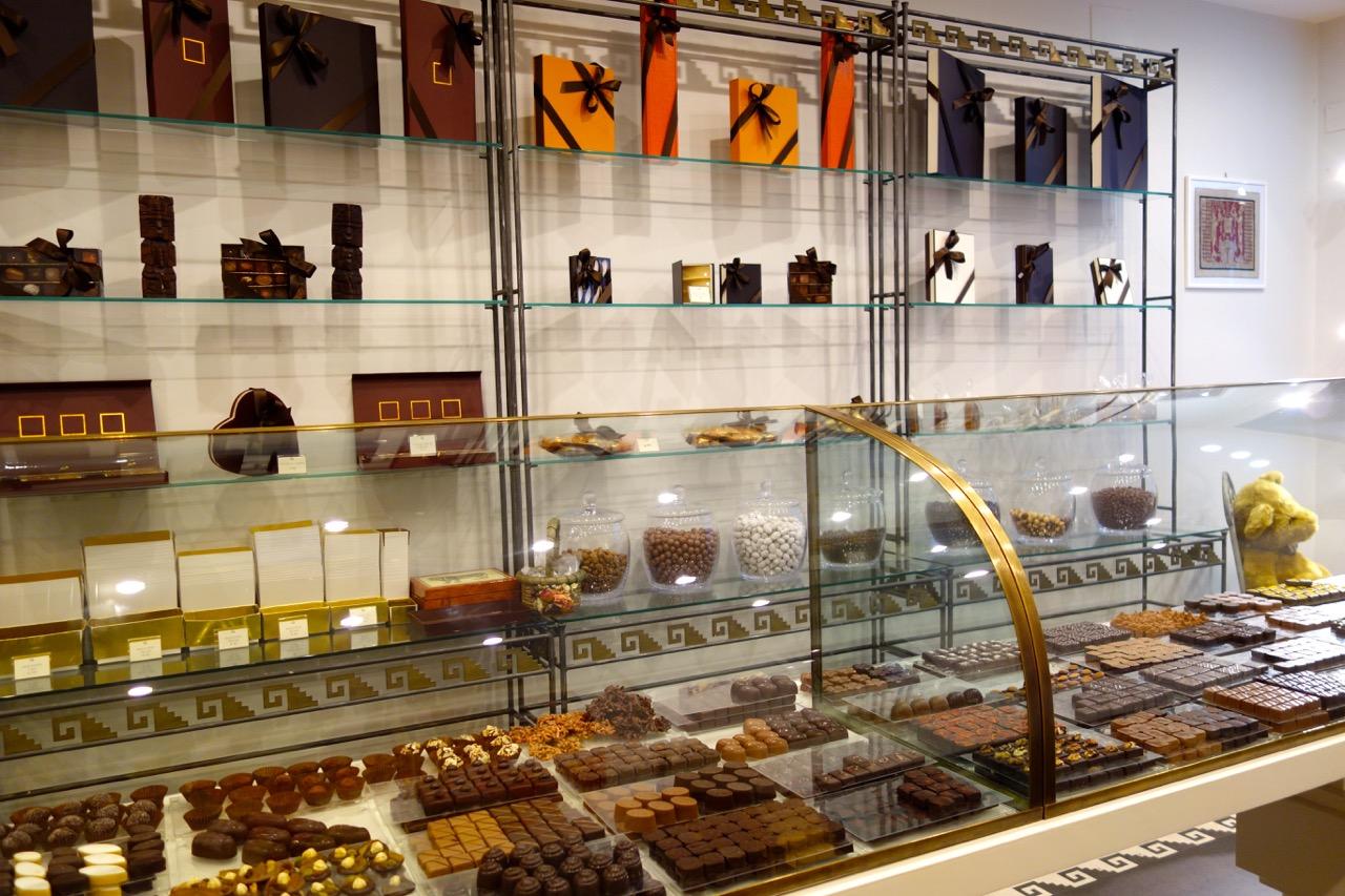 chocolates at quetzalcoatl