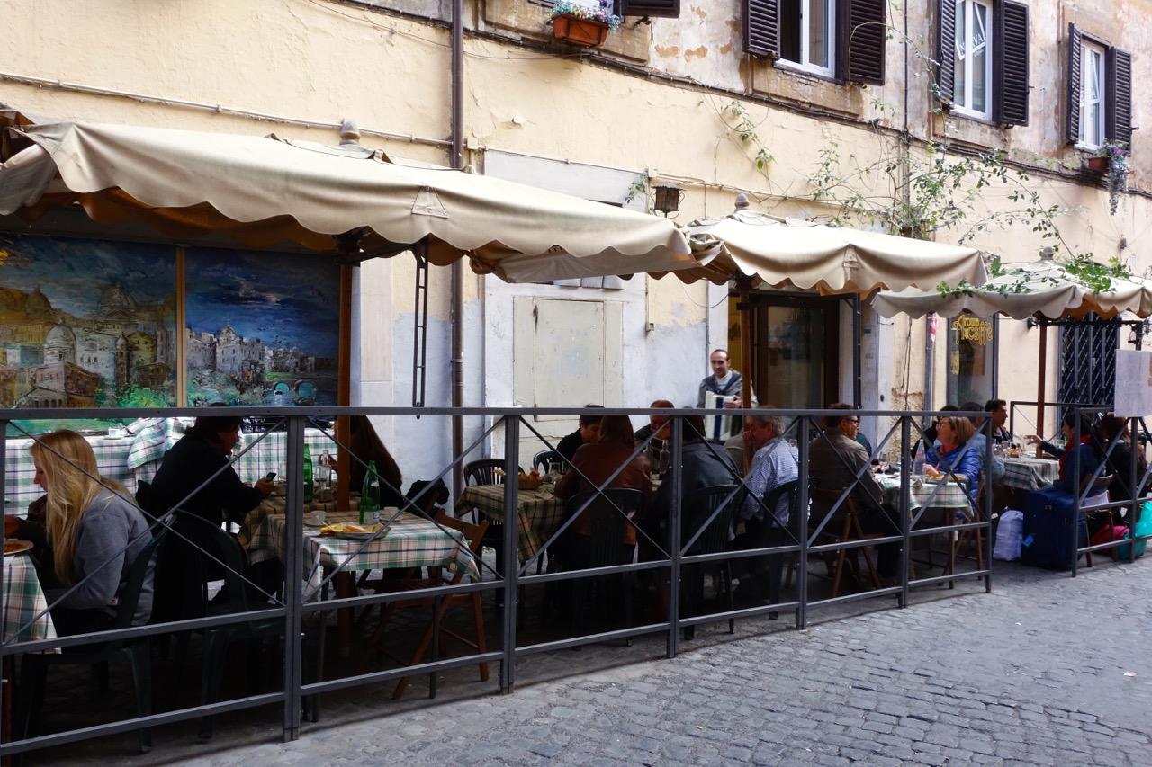 Osteria della Suburra outside