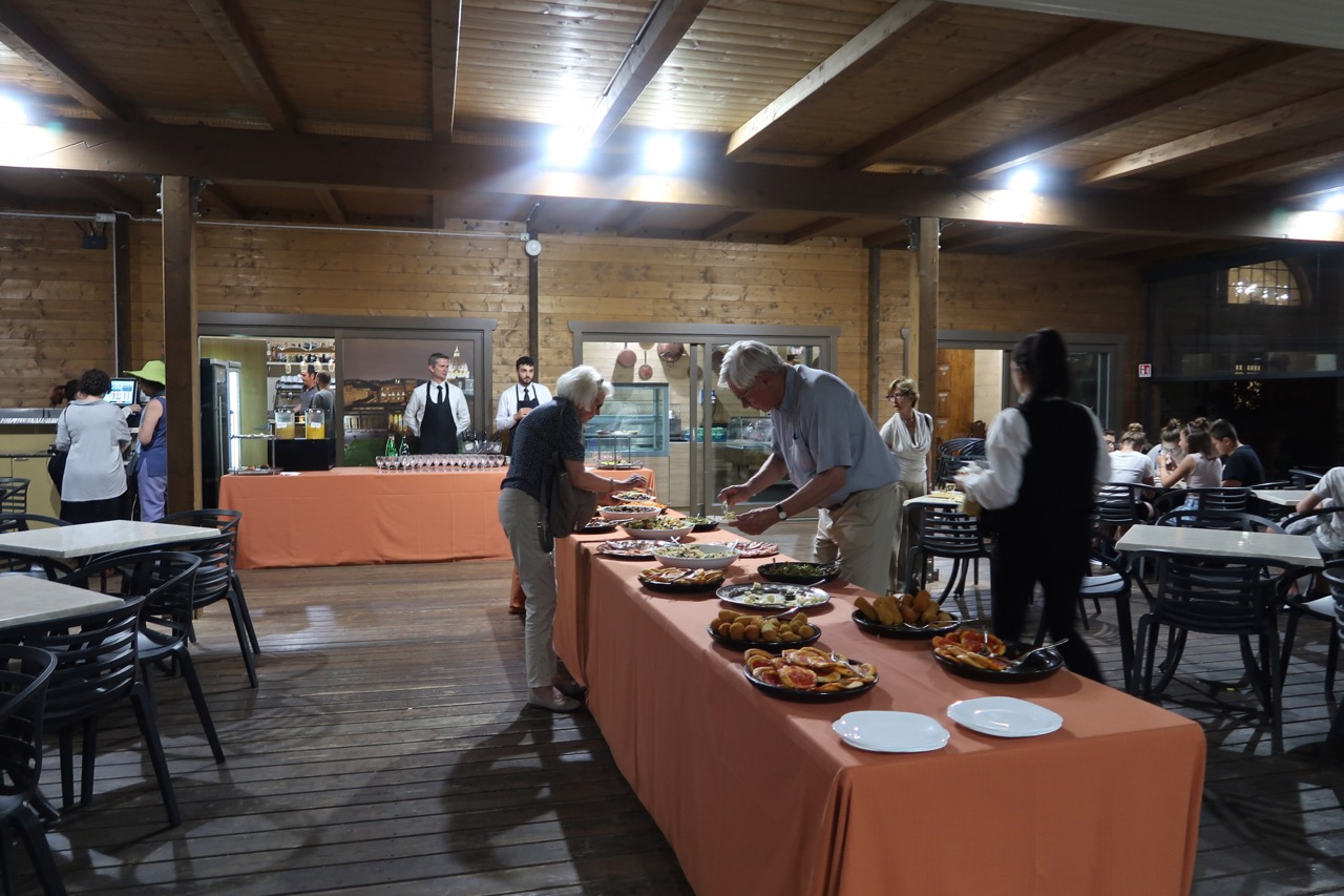 snack buffet vatican museums aperitivo