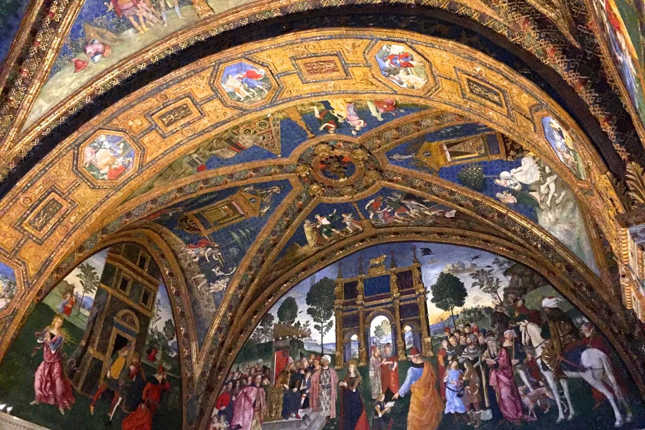 borgia apartment in vatican museums